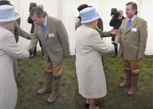 Mr Vaughan said he was very honoured to be presented to the Queen, especially in such an auspicious year.